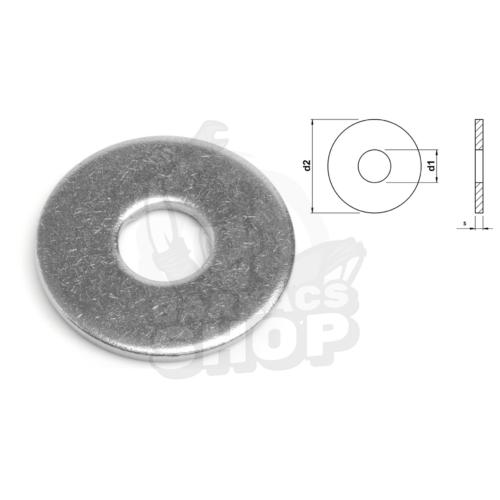 DIN 9021 - Fakötésű alátét 140HV horganyzott